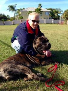 dog training cane corso