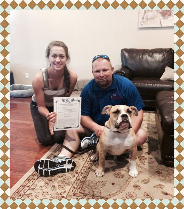 dog training grad 3